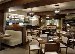luxury restaurant interior design in home interior design concept