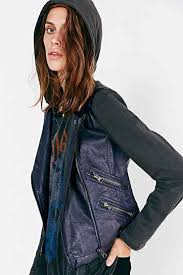 hooded motorcycle jacket 10 vegan leather jackets that are more stylish than the real thing