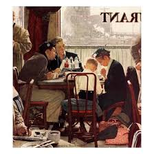 saying grace november 24 1951 giclee print by norman rockwell at