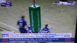 Resume Francais Résumé Du Match Stade Français Bath Demi Finale De Challenge Cup