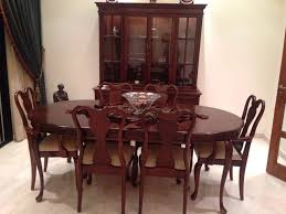Solid Cherry Dining Room Furniture by Beautiful Gibbard Solid Cherry Dining Room Set For 4800 By