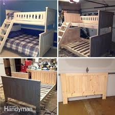 Bunk Bed Plans With Stairs Bunk Bed Plans 21 Bunk Bed Designs And Ideas Family Handyman