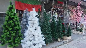 buy christmas tree bulgarians buy more artificial christmas trees