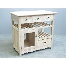 meuble etagere cuisine meuble de cuisine hévéa 4 tiroirs 1 porte grillagée 1 étagère 1
