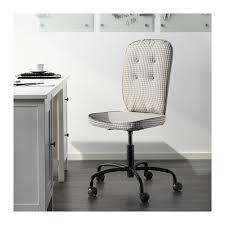 Ikea Office Swivel Chair Lillhöjden Swivel Chair Sågmyra Gray Idemo Gray Patterned