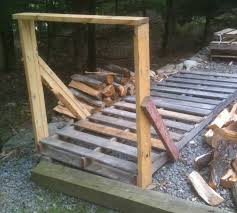 Diy Firewood Rack Plans by How To Build Your Own Cheap Or Free Firewood Racks Diy