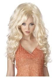 wig halloween blonde bombshell wig halloween costumes
