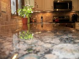Tile Pattern For Backsplashes Joy We Installed Baltic Brown Granite Countertops And Roman Stone