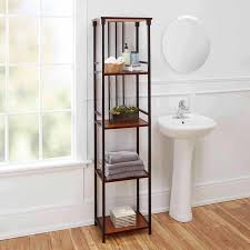Bathroom Shelve The Twillery Co Huette Mixed Material 5 Tier 12 W X 66 H