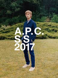 a p c spring summer 2017 campaign high fashion living