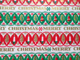 vintage christmas wrapping paper vintage christmas wrapping paper geometric traditional
