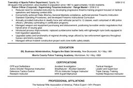 Sample Resume For Retired Police Officer by Military Police Resume Templates Reentrycorps
