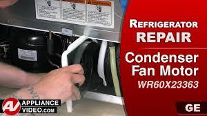 ge refrigerator fan motor ge general electric refrigerator not cold enough diagnostic