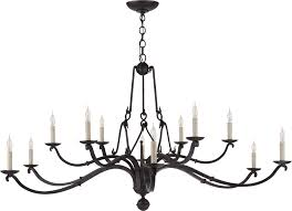large chandelier candle allegra large chandelier in aged iron chandeliers module 47