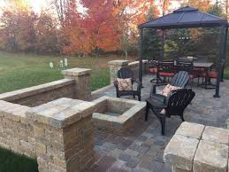 Images Of Paver Patios Is Fall A Time To Install A Paver Patio Proscape Lawn