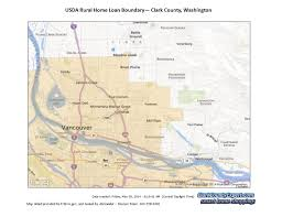 Portland Zip Code Map by Usda Zero Down Loans In Clark County Wa