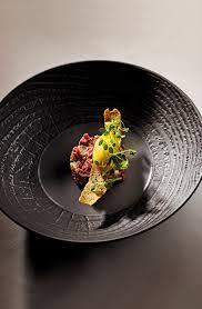 cuisine langue de boeuf salade tiède de langue de boeuf sorbet pommes vertes cornichons