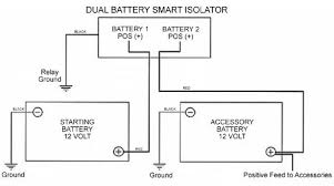 smart dual battery 140a isolator vsr voltage sensitive