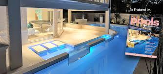 Concrete Pool Designs Ideas Award Winning Concrete Swimming Pool U0026 Spa Builders Newcastle