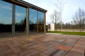 outdoor patio kitchen design with red brick herringbone floor f