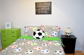 bedroom cool soccer bedrooms wall decor soccer soccer stuff for