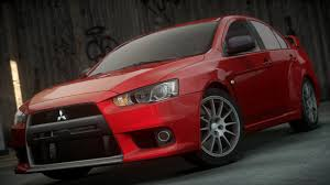 mitsubishi evo red mitsubishi lancer evolution x need for speed wiki fandom