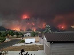 Wild Fire Columbia Gorge by My Neighborhood Is Mordor Right Now Album On Imgur