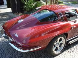 corvette stingray 64 1963 split window corvette stingray modified onto 64