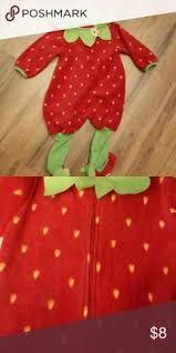 Strawberry Halloween Costume Baby Carter U0027s Infant Strawberry Halloween Costume Strawberry Costume
