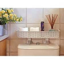 Bathroom Space Saver Shelves White Rattan Plastic Above Toilet Bathroom Space Saver Shelf