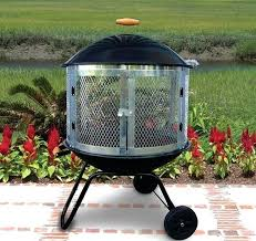Weber Firepit Pits With Wheels Fortkochi Me