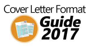 best cover letter format guide for 2017