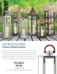 pilgrim home and hearth lantern brochure pilgrim hearth