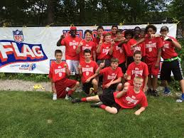 Red Flag Football Manchester Middle Flag Football Manchester Flag
