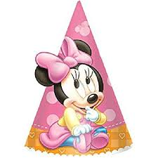 minnie mouse 1st birthday minnie mouse 1st birthday party hats 8 ct toys