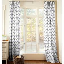Gray And White Chevron Curtains by Interior U0026 Decoration Chevron Curtains Ideas
