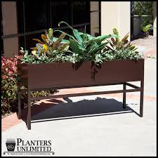 large office planters on metal plant stands planters unlimited