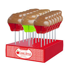 where can i buy caramel apple lollipops caramel apple lollipops pack 24 display by melville candy