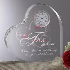Personalized Wedding Clocks Personalized Tumbled Tile Wedding Clock A Vintage California
