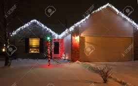 christmas lights house stock photos u0026 pictures royalty free