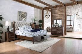 Online Bedroom Set Furniture by 4 Piece Hutchinson Storage Bedroom Set Furniture Of America U2022 Usa
