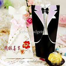 wedding favor boxes wholesale black white wedding favour boxes groom dress tuxedo
