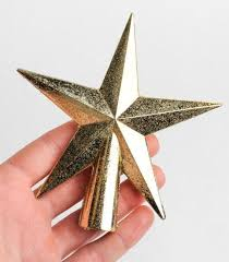 small gold glittered tree topper trees and