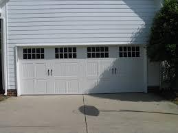 Miller Overhead Door by Three Panel Carriage House Garage Door With Large Windows