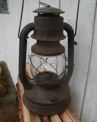 antique kerosene l globes vintage railroad lantern dietz no 2 large d lite new york usa