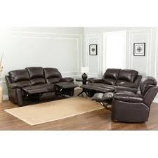 Brown Leather Recliner Sofa Reclining Living Room Sets You U0027ll Love