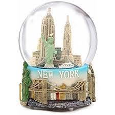 new york city classic snow globe 80mm home kitchen