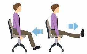 exercice au bureau cinq exercices de musculation à faire au travail pour garder la