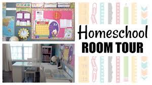 homeschool room tour u0026 organization 2017 youtube