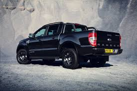 Last Year Ford Ranger Ford Ranger To Show Darker Side At Frankfurt Show With New Black